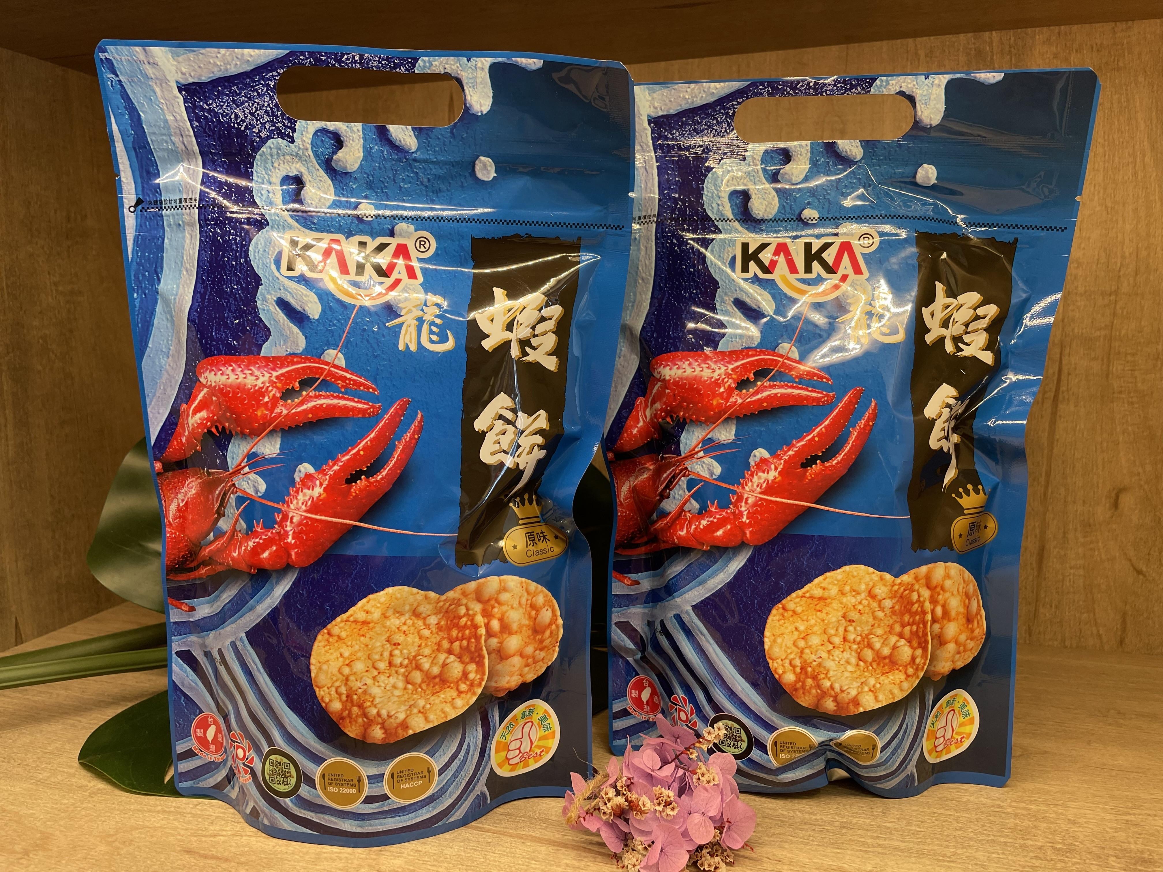 KAKA醬燒蝦餅(原味)